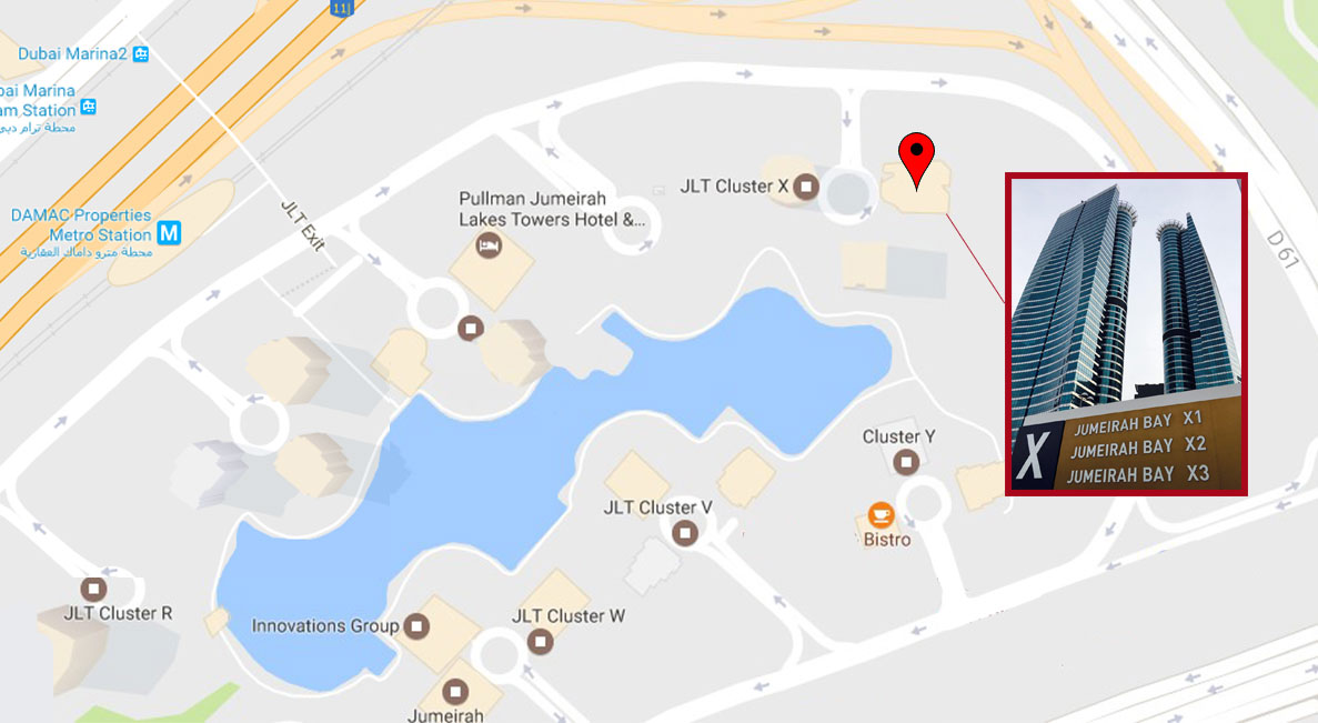 how to find UAE Consult map